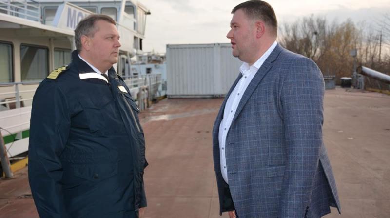 Новый руководитель УДП Дмитрий Чалый активно знакомится с состоянием дел компании