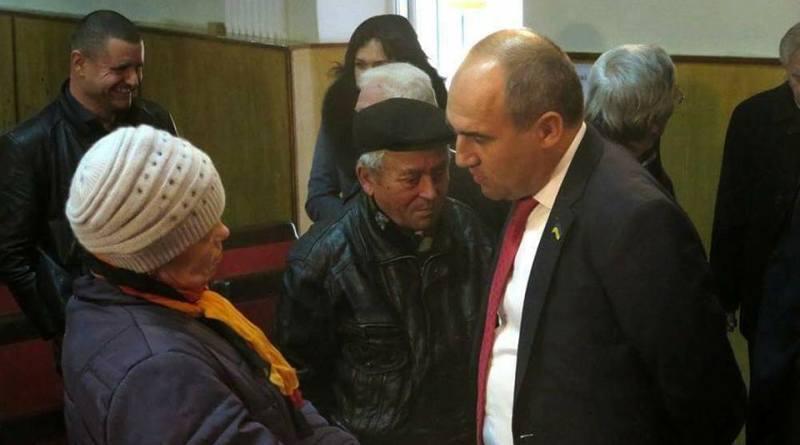 Ежегодный отчет депутата, зампреда Одесского областного совета перед своими избирателями