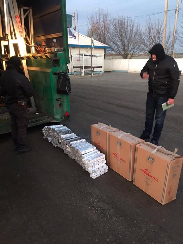 24862108_1957797697810086_4176967934047128302_n СБУ и пограничники изъяли в Рени контрабандные сигареты на сумму более 1 млн. гривен
