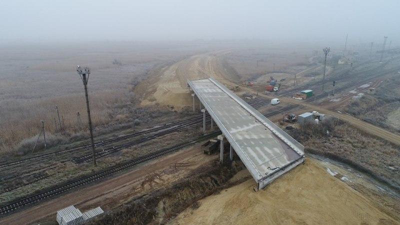 САД показала, на какой стадии находится строительство объездной дороги вокруг Рени