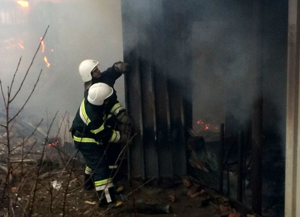 В Затоке сожгли очередную базу отдыха