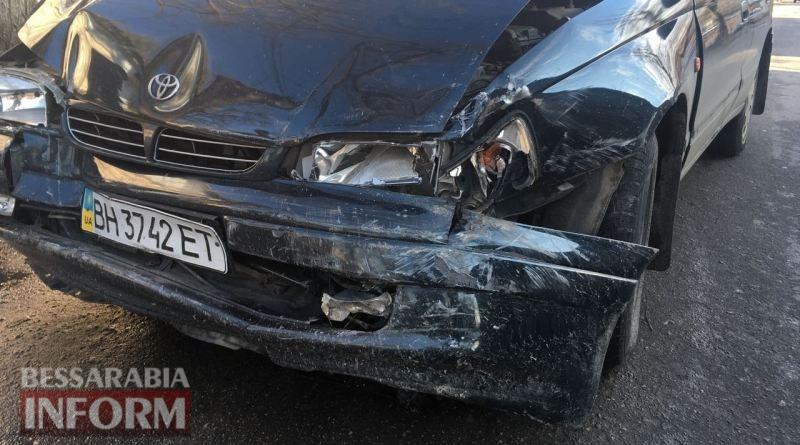 ДТП в Измаиле: на Кутузова столкнулись Renault и Toyota