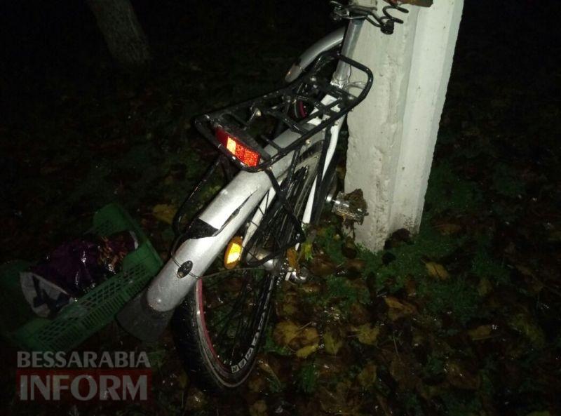 Измаил: неустановленное авто наехало на велосипедиста и скрылось