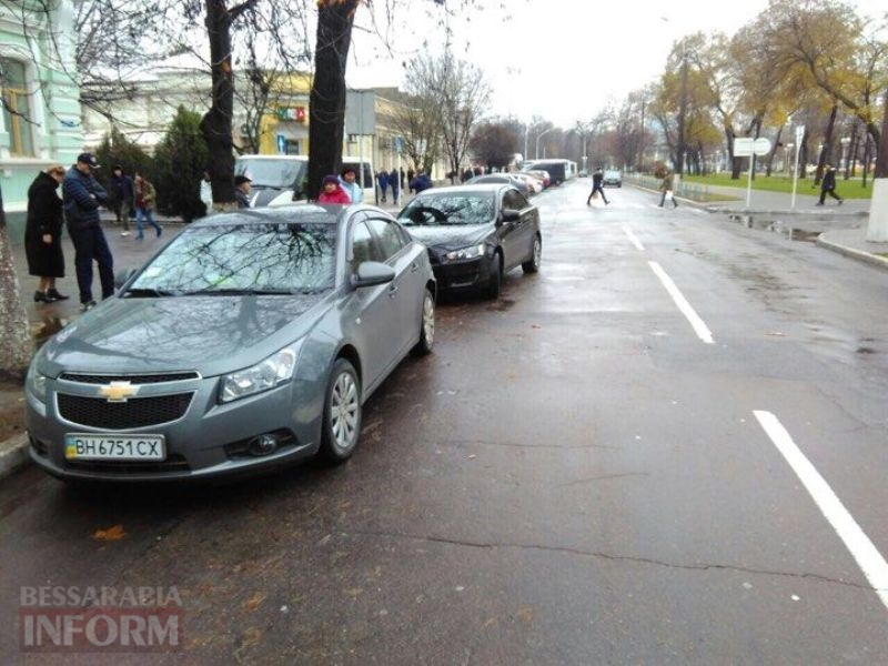 5a23fa2de6385_245501492439217612971068794249982n Воскресная суета: на проспекте Суворова в Измаиле за два часа произошло сразу две аварии