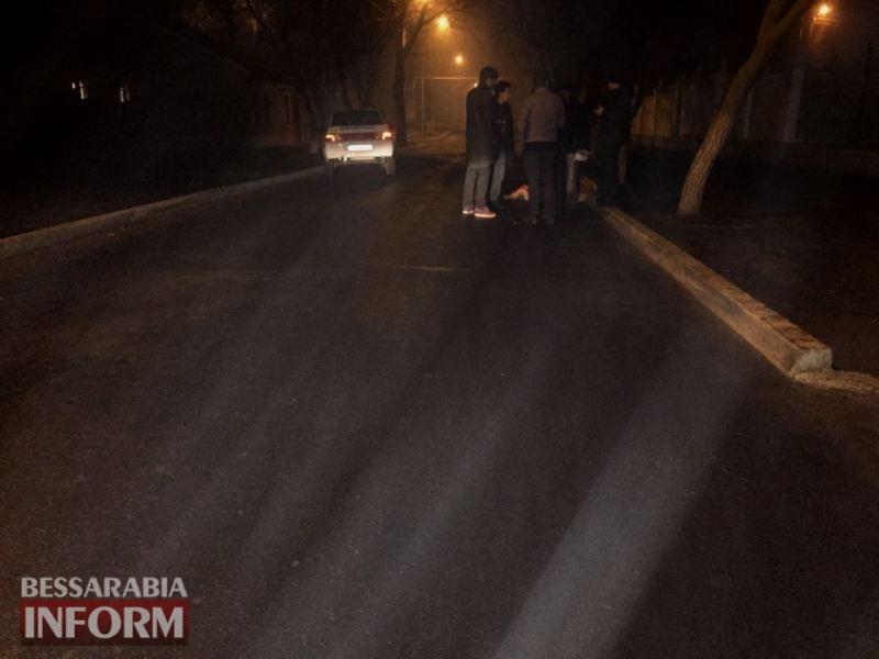 В Измаиле автомобиль охранной службы сбил насмерть пешехода