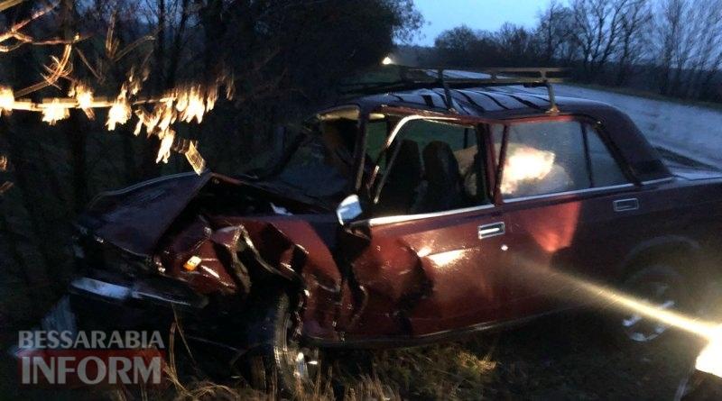 В лобовом столкновении двух авто на трассе Одесса-Рени пострадали двое детей и их мама