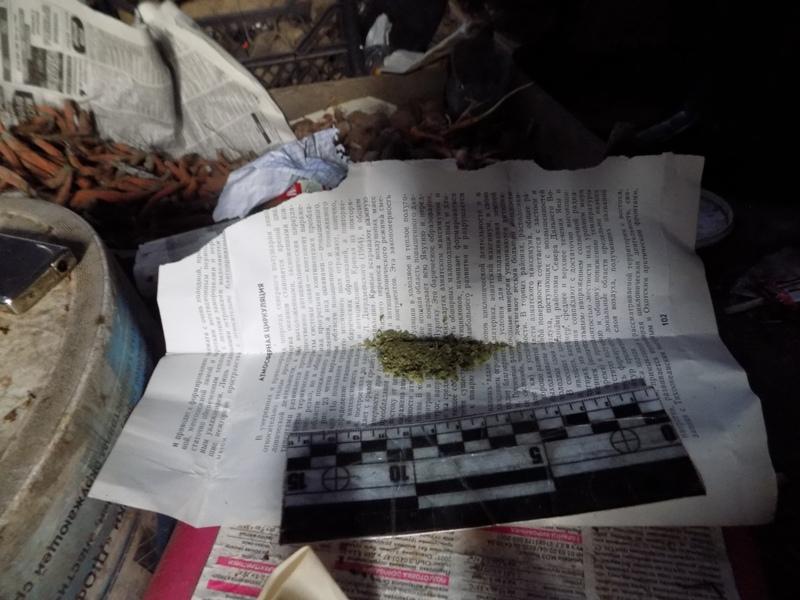 При обыске у жителя Измаила нашли свертки с марихуаной