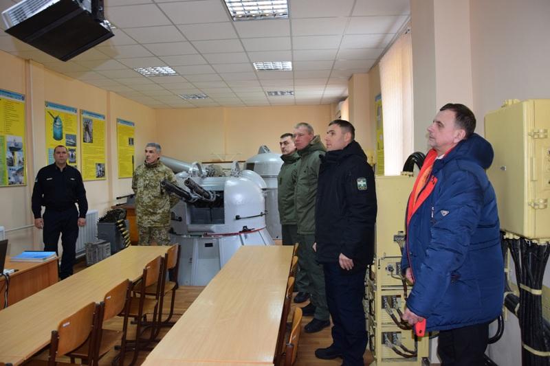 Учебно-методические сборы прошли в Измаильском учебно-тренировочном отряде морской охраны