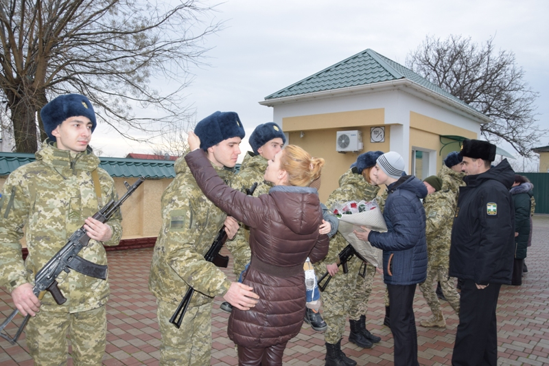 Пополнение в Измаильском погранотряде: новобранцы присягали на верность народу Украины