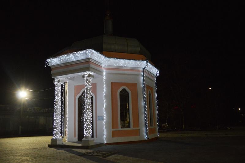 В Килии торжественно включат новогоднюю иллюминацию