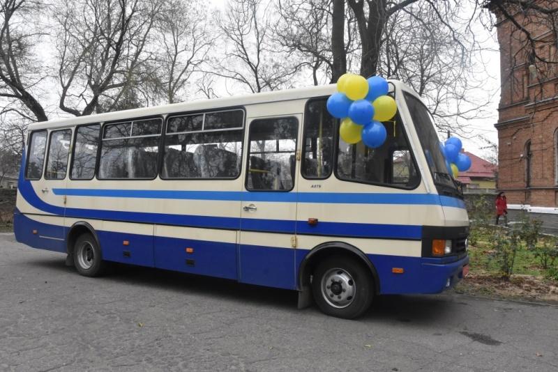 Подарок к 145-летию: знаменитое педучилище в Аккермане получило новый автобус