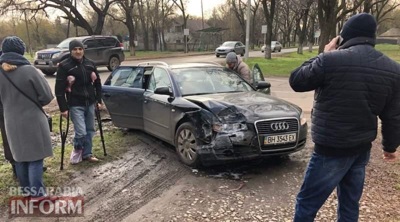 DTP-Izmail В Измаиле на проспекте Суворова столкнулись Chery и Audi