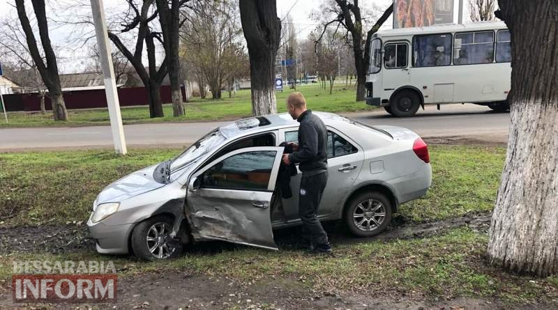 DTP-v-Izmaile В Измаиле на проспекте Суворова столкнулись Chery и Audi