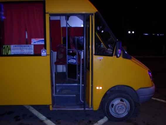 В Измаиле грабитель у водителя маршрутки похитил выручку