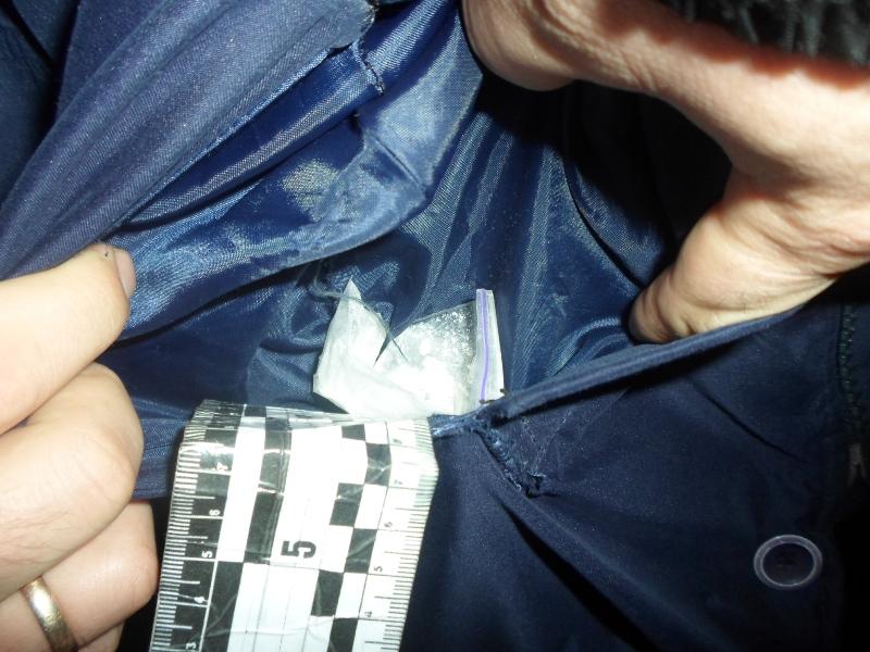 В Измаиле нацгвардейцы нашли в кармане прохожего амфетамин
