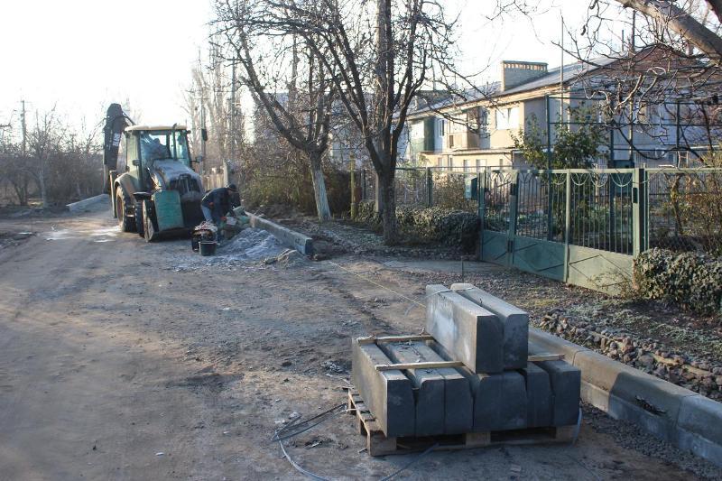 В Аккермане приступили к капитальному ремонту улицы Молодежной