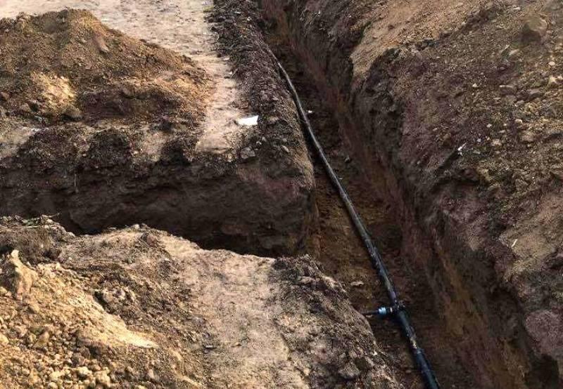 Ренийский р-н: в селе Долинское проводится капремонт водопровода