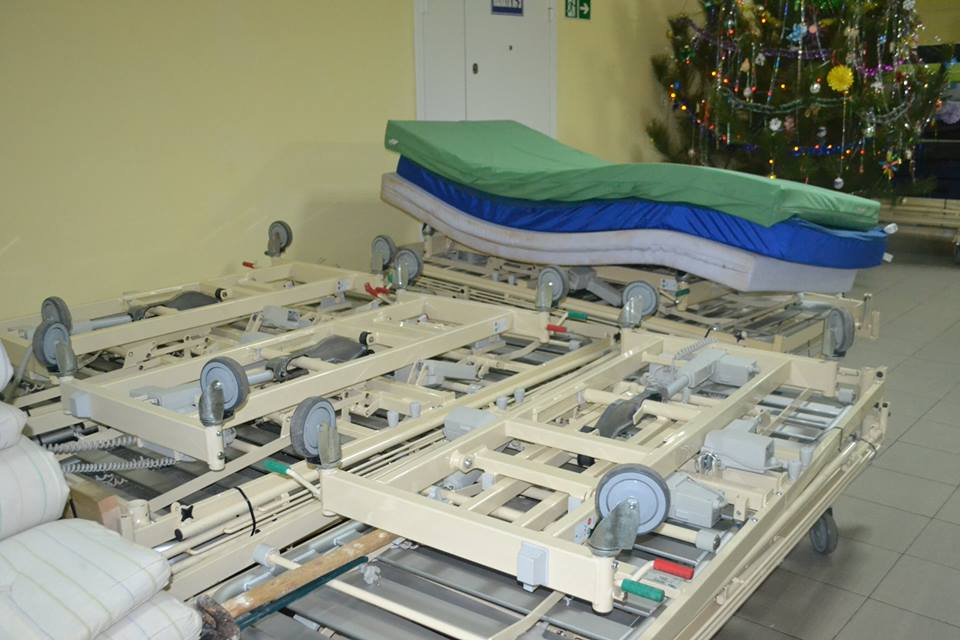 В Белгород-Днестровском многопрофильная больница принимает медицинское оснащение из Дании