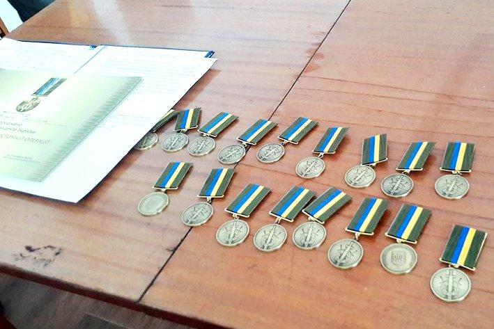 Тридцать военнослужащих из Килийского района получили награды Президента Украины