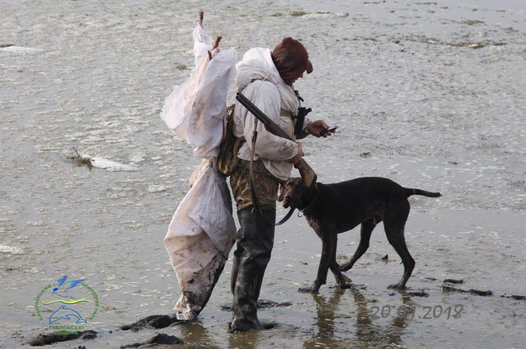 Одессит-браконьер, охотившийся в заповедной зоне Татарбунарского района, угрожал ружьем экологам нацпарка