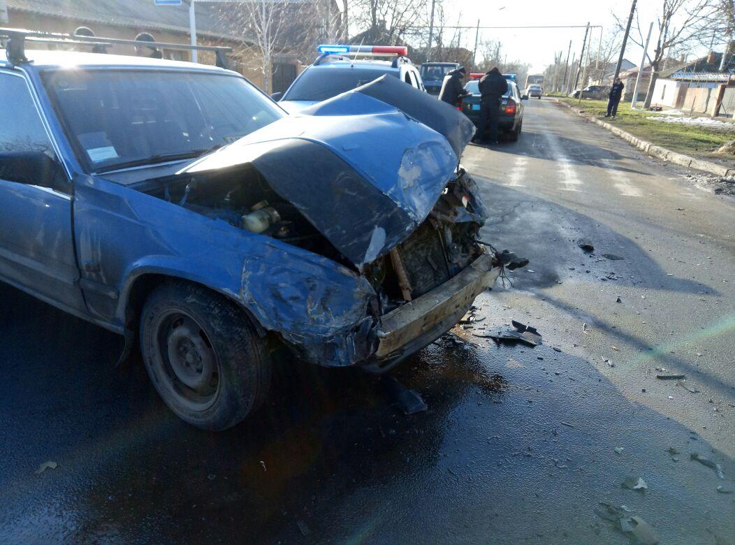 В Измаиле в серьезном ДТП на улице Белгород-Днестровской пострадала пассажирка международного автобуса