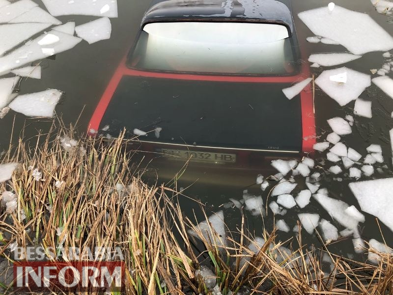 Измаильский р-н: между селами Старая Некрасовка и Кислицы в канале утонул автомобиль (обновлено)