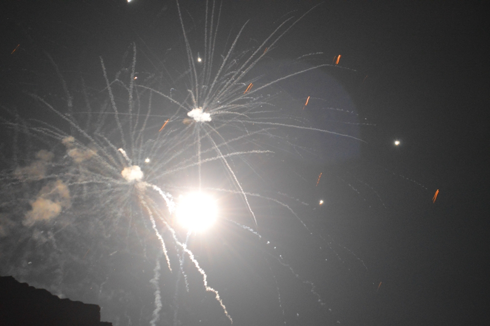 В Килии на Центральной площади масштабно отгуляли Новый год (фото)