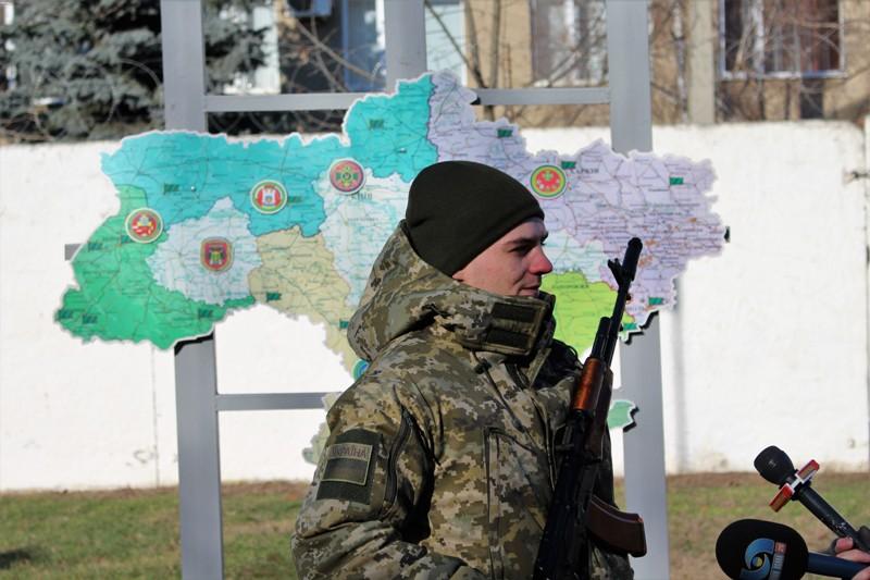 Первое пополнение в 2018 году в Белгород-Днестровском погранотряде (фоторепортаж)