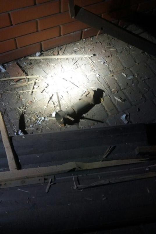 В Аккермане неизвестный выстрелил из гранатомёта в здание кафе