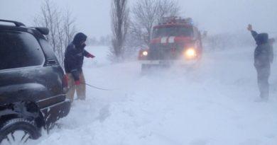 Зима пришла: синоптики обещают ухудшение погоды, а САД вводит ограничение движения на дорогах Одесской области
