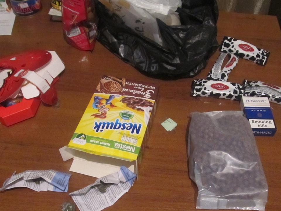 Собака белгород-днестровских пограничников учуяла марихуану у пешего украинца в «Nesquik» и конфетах