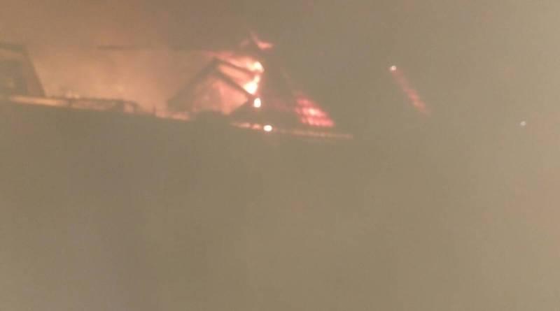 Масштабный пожар в Измаильском районе: в Кислицах сгорел дом известного врача-костоправа