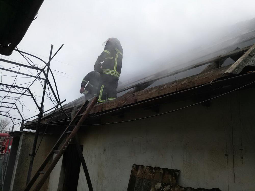 В Рени произошел масштабный пожар в частном доме
