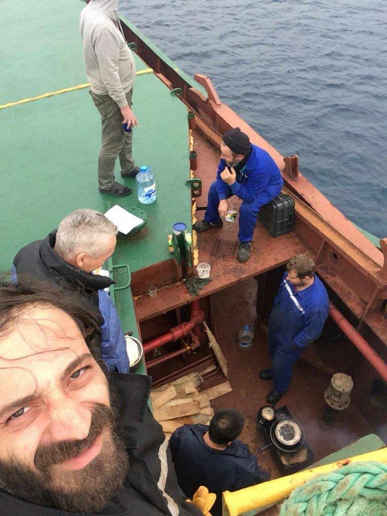 Турецкий судовладелец бросил моряков, среди которых житель Вилково, без провизии и воды на разбитом судне