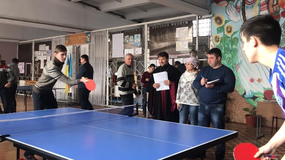 В Килии состоялся православный теннисный турнир
