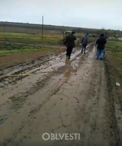 Построенная в Одесской области дорога «будущего» стоимостью 700 000 гривен спустя год приказала долго жить