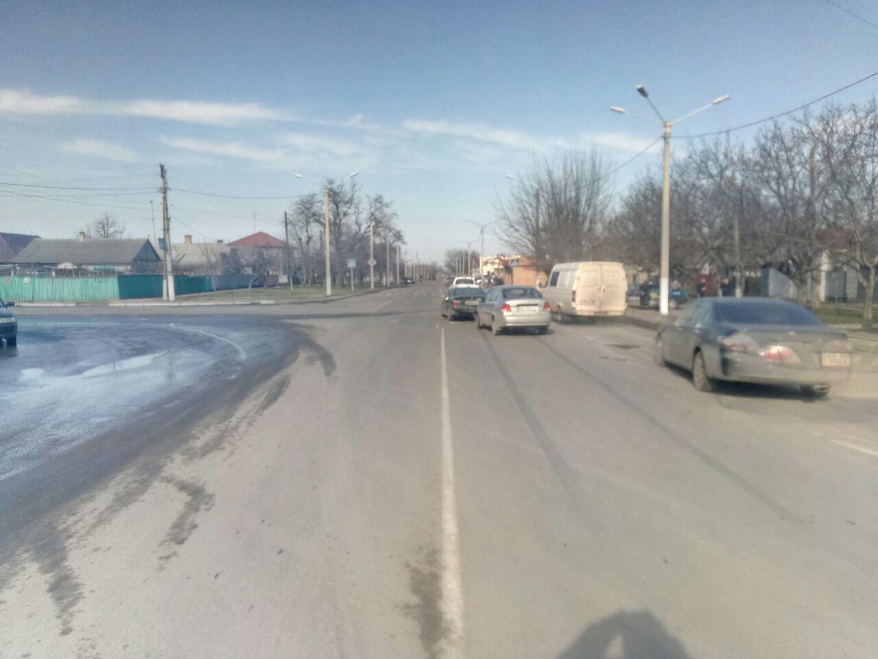 Измаил: превышение скорости стало причиной ДТП на улице Шевченко