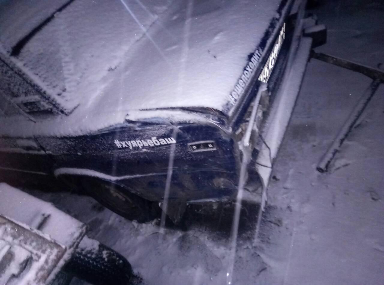В Измаиле в результате ДТП снесли очередную опору линий электропередач