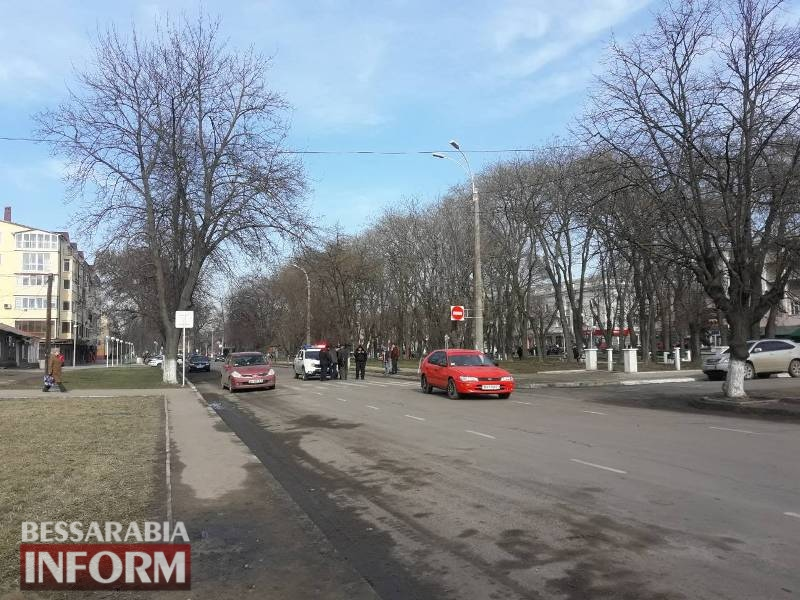 В Измаиле на проспекте Суворова сбили девочку-подростка