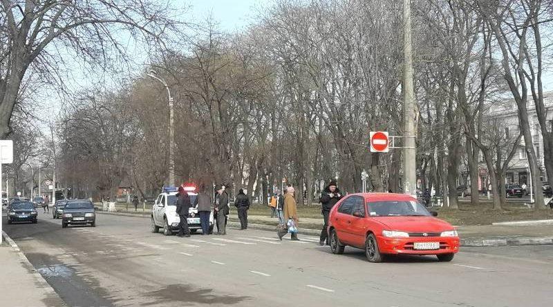 В Измаиле иномарка сбила женщину на переходе (фото)