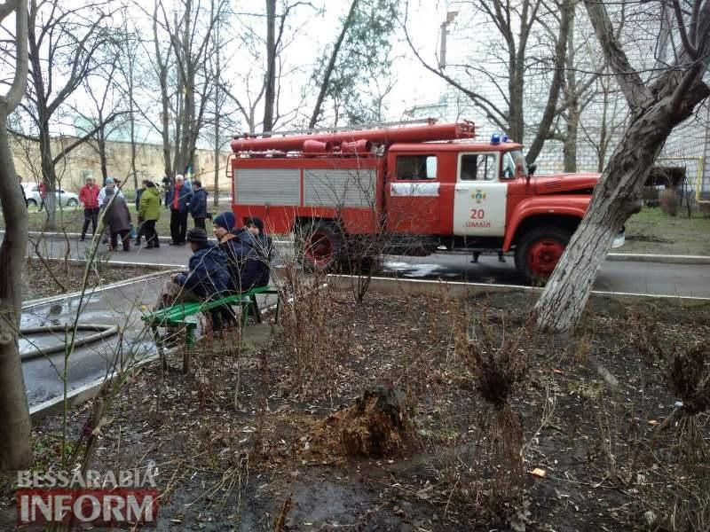 В Измаиле спасатели ликвидировали возгорание в квартире пятиэтажного дома