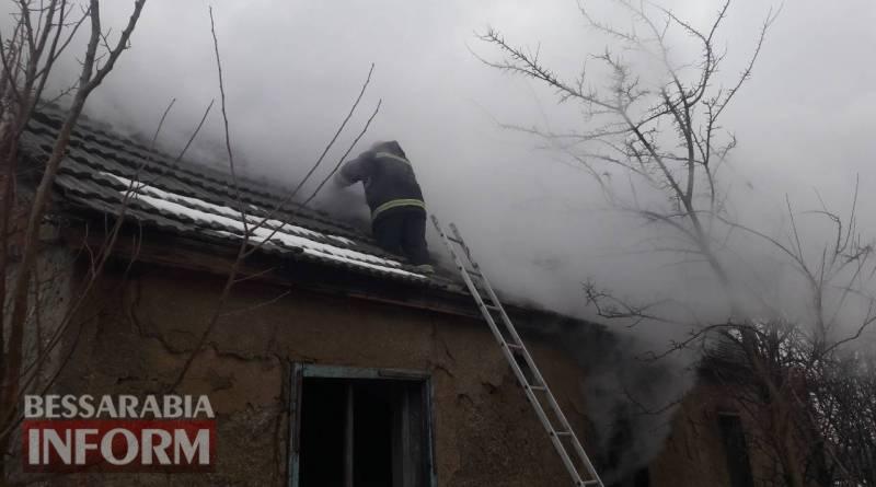В Измаиле пожарные не дали сгореть частному дому на улице Мичурина