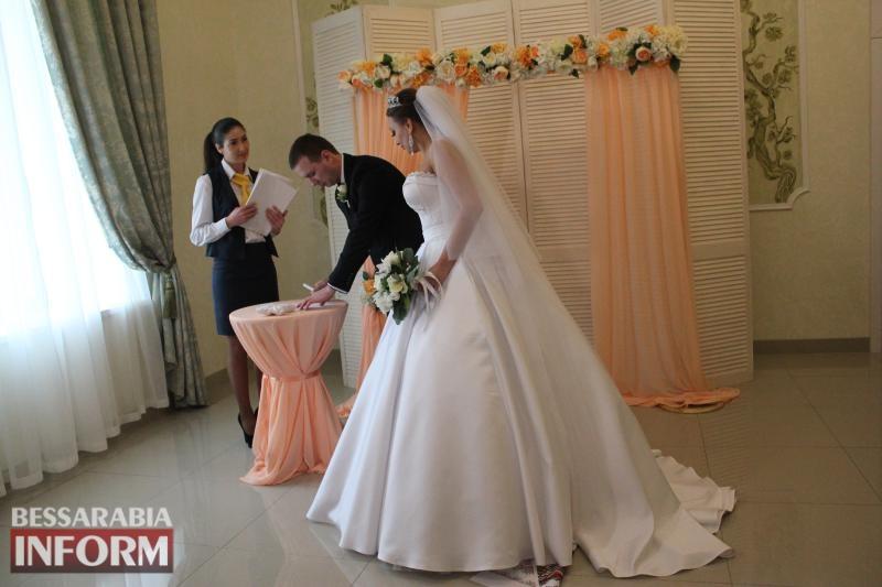 Экспресс-браки в Измаиле: Центр обслуживания граждан провел в отеле «Бессарабия» первое бракосочетание
