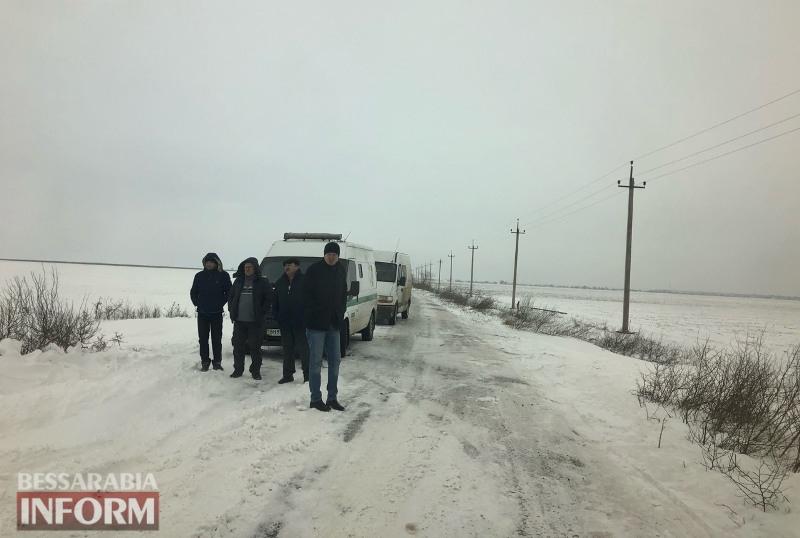Циклон до Измаильского района еще не дошёл, а под Камышовкой уже образовался затор