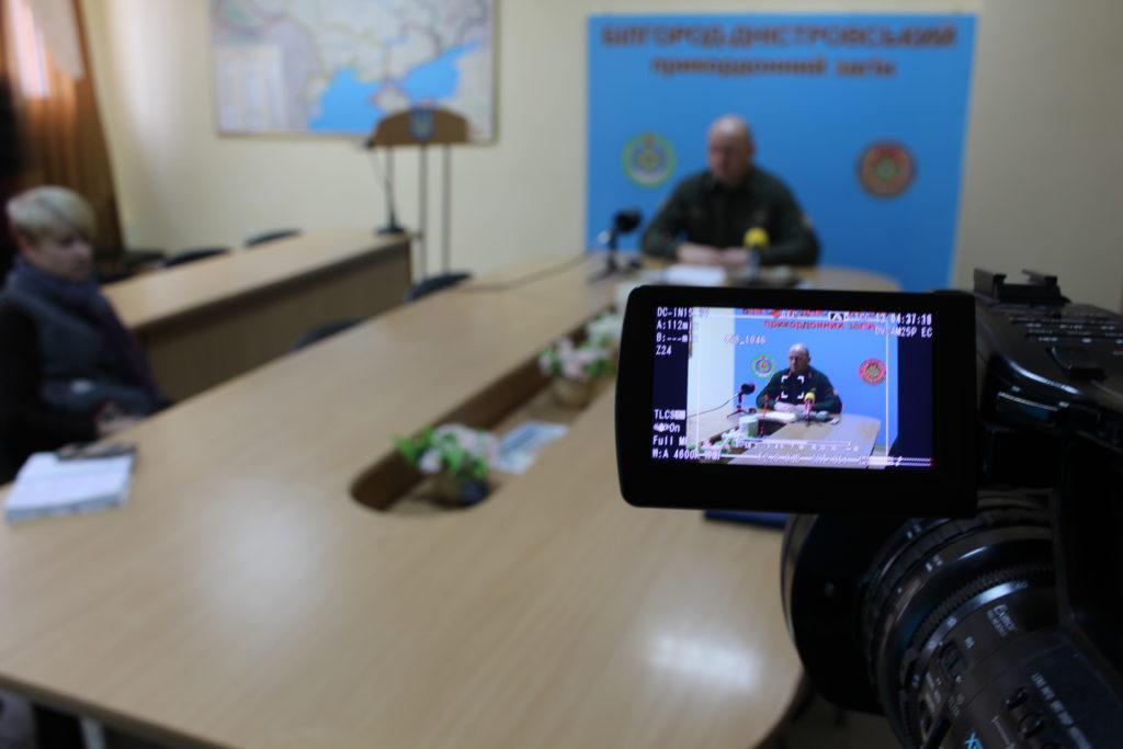 Год выдался насыщенным: в Белгород-Днестровском погранотряде подытожили результаты службы в 2017 году