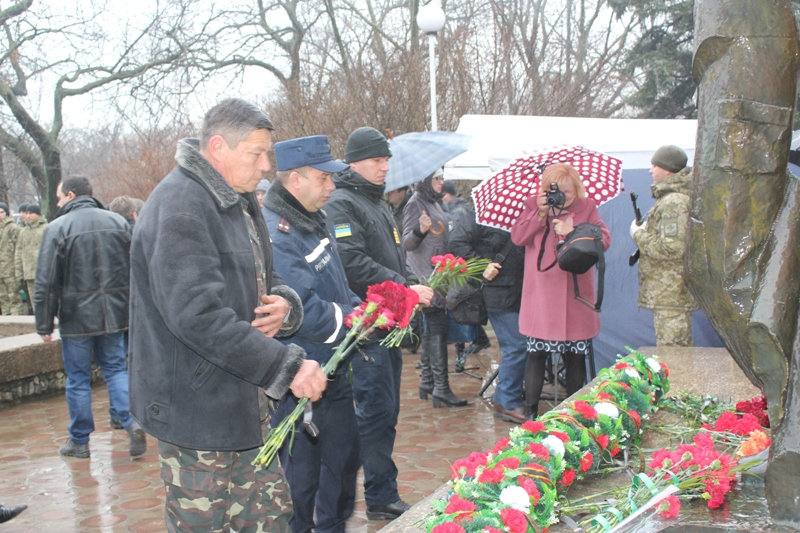 В Измаиле отдали дань памяти землякам, погибшим в Афганистане