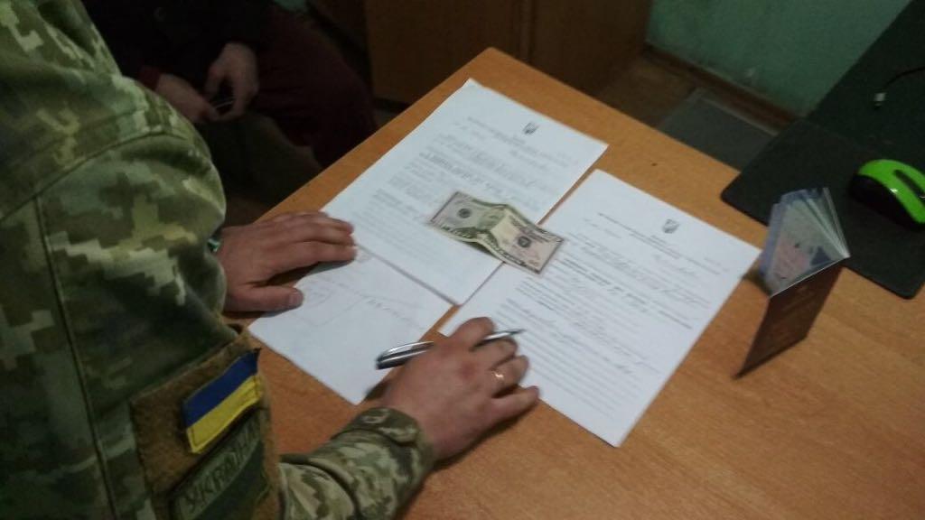 В пп «Виноградовка» грузин предложил взятку пограничнику, и тем самым лишился возможности пересечь границу