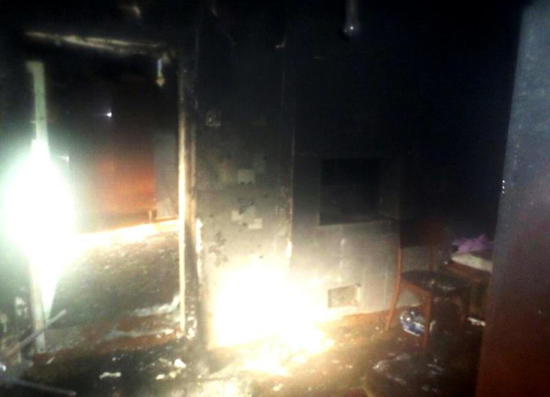 Серьезный пожар в Татарбунарском р-не: хозяйка дома получила ожоги