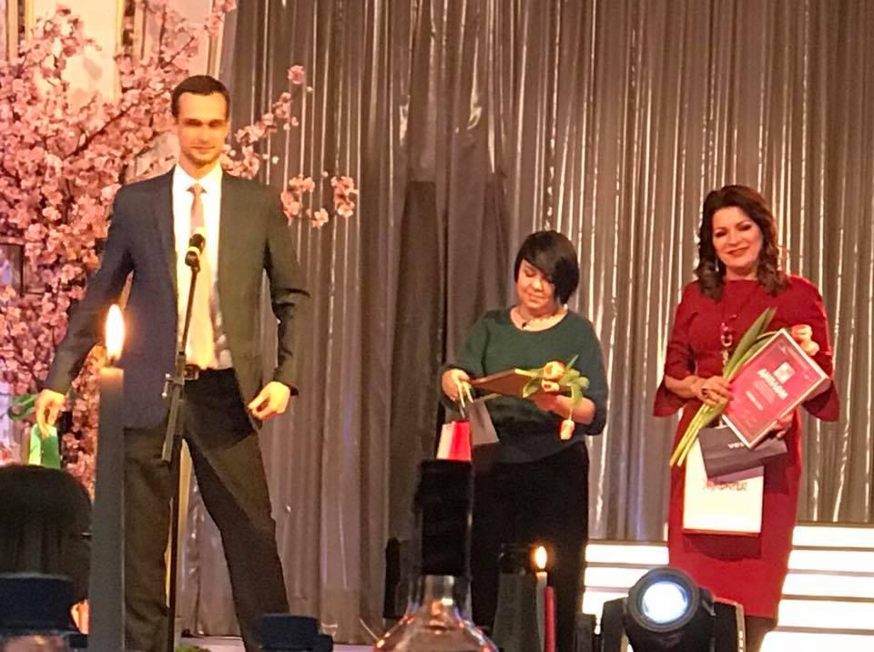 «Мои мечты имеют свойство обязательно сбываться»: Алла Гинак вошла в число 100 успешных женщин Одесской области