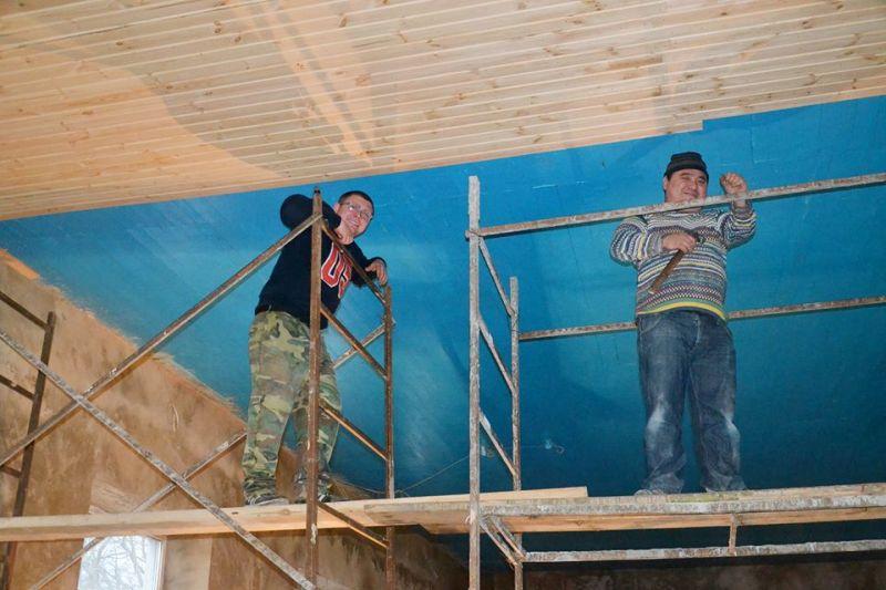 Тарутинский р-н: в селе Николаевка капитально отремонтирован спортзал местной школы